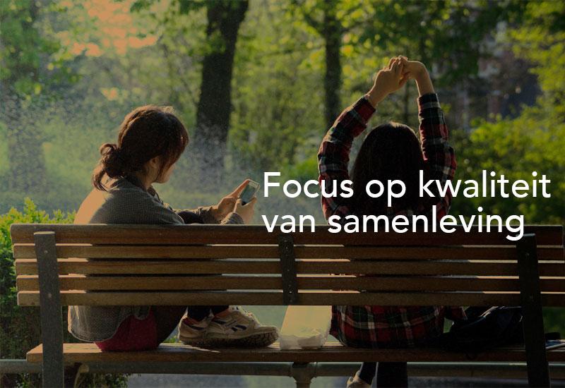 Focus op kwaliteit van samenleving